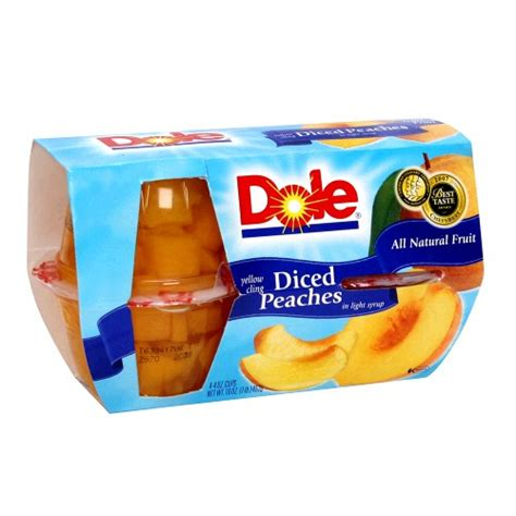 Promo Singing Fruit With Light Price On Dole Fruit Cups At Kroger