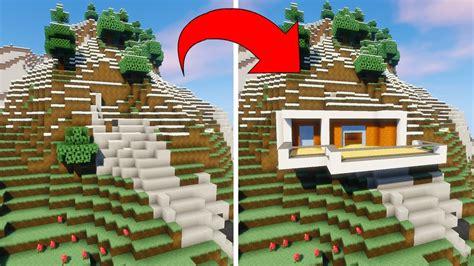 maison montagne minecraft minecraft maison montagne avie home