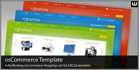 rgbstore oscommerce shopping cart template oscommerce