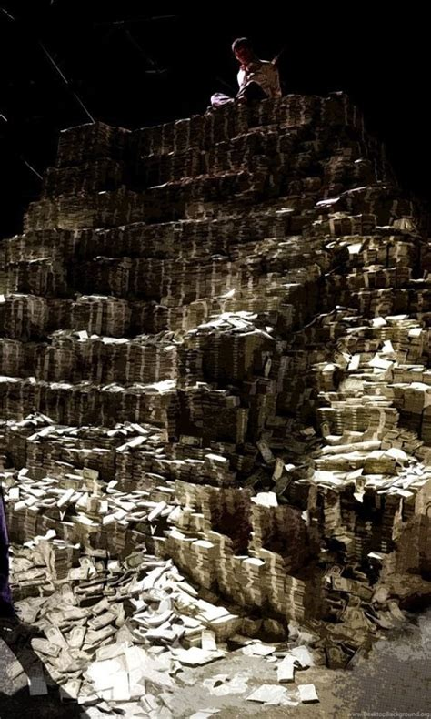 dark knight money pile  hd wallpapers