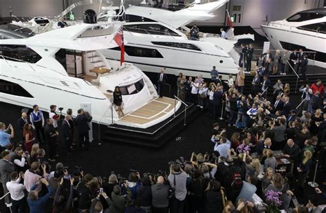 boat show 2017 london london boat show 2017 sunseeker london