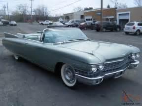 1960 Cadillac Eldorado For Sale 1960 Cadillac Eldorado Biarritz Convertible Also 1959