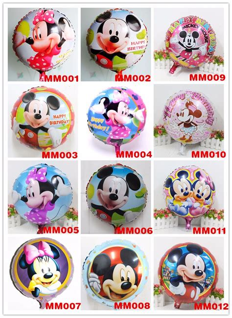 Balon Foil Pentungan Mickey Minnie mickey minnie foil helium balloons for birthday