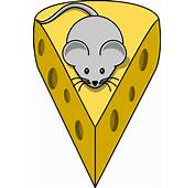 Mouse With Cheese Clip Art At Vector Image 16715