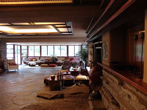 frank lloyd wright home interiors file frank lloyd wright fallingwater interior 7 jpg wikimedia commons