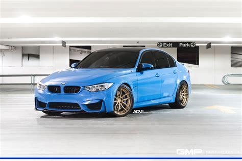 bmw m3 yas marina blue yas marina blue bmw m3 adv005 m v2 cs concave wheels