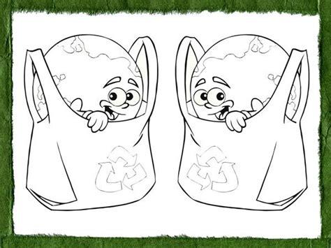 imagenes infantiles reciclaje dibujos para pintar con ni 241 os sobre el reciclaje y la ecolog 237 a