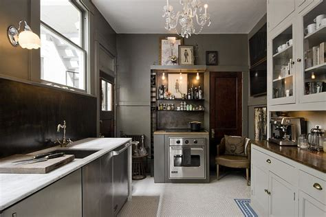 black white and gray home decor eclectic kitchen combines gray white and black decoist