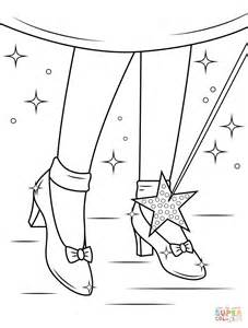 ruby shoes coloring page free printable coloring pages