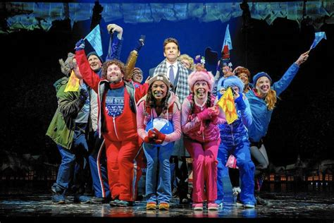 groundhog day broadway review groundhog day on broadway the show must still go on