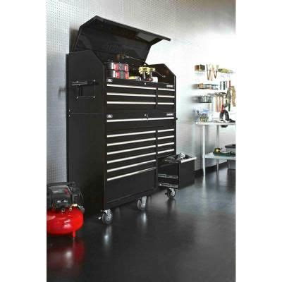 Husky 52 In 18 Drawer Tool Chest And Cabinet Set Black by 1000 Ideas About Tool Cabinets On