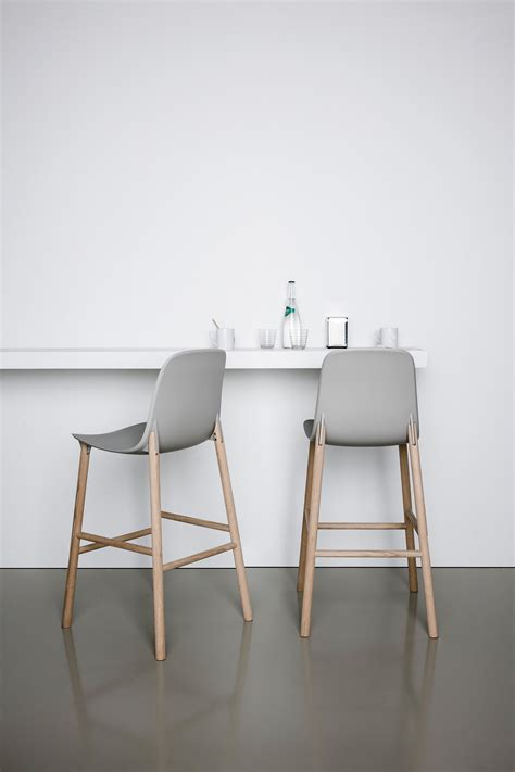 High Back Bar Stool Chairs by Sharky Barstool High Back Bar Stools From Kristalia