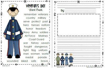 printable writing paper for veterans day sailing through 1st grade veteran s day freebie social
