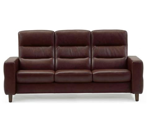 The Stressless High Back Leather leather high back sofa stressless wave highback sofa modern recliner leather thesofa