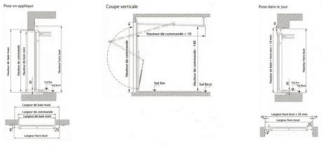 dimension porte de garage basculante standard porte de garage basculante motorisee 4 dimension