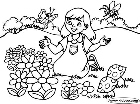 imagenes para pintar sobre la primavera primavera para colorear