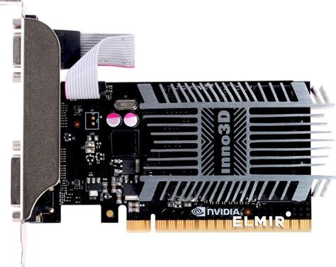 видеокарта pci e 2gb geforce gt710 ddr3 inno3d n710
