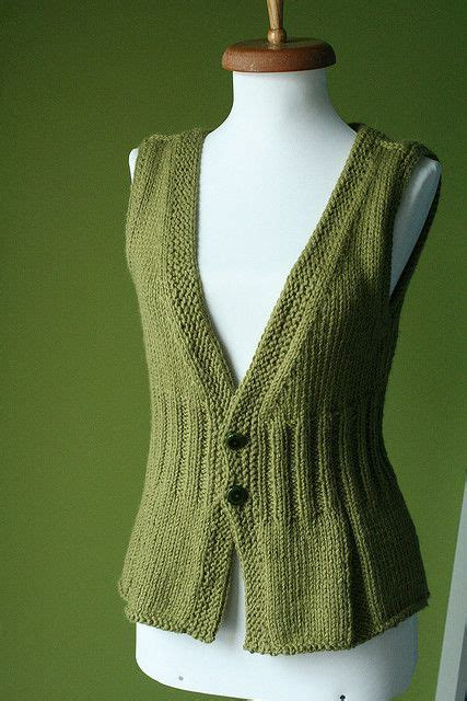 knitted waistcoat  pattern     awesomely