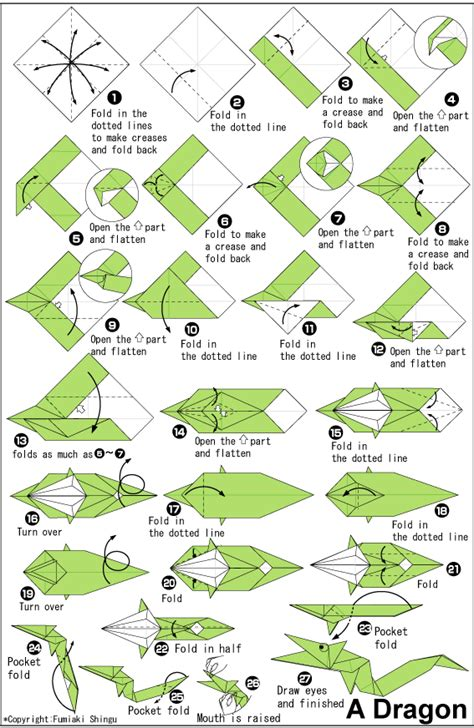 How To Make An Origami S - easy origami printable driverlayer