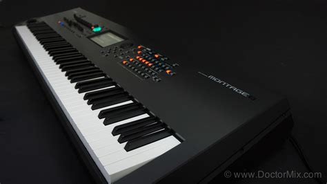 Keyboard Yamaha Montage yamaha montage review doctormix