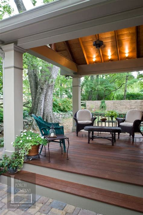 Open Patio Ideas by Open Porch Screened In Porch Porches