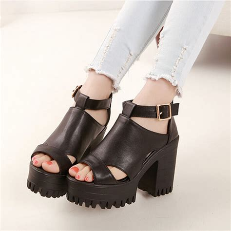 sport high heels shoes best chunky heels to sport this summer fashion inspo