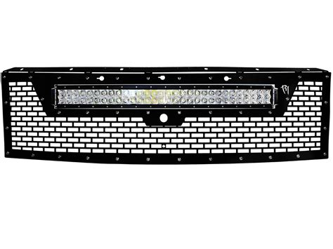Led Grill Light Bar Ford Raptor Led Grille By Rigid Industries Part Number 40571