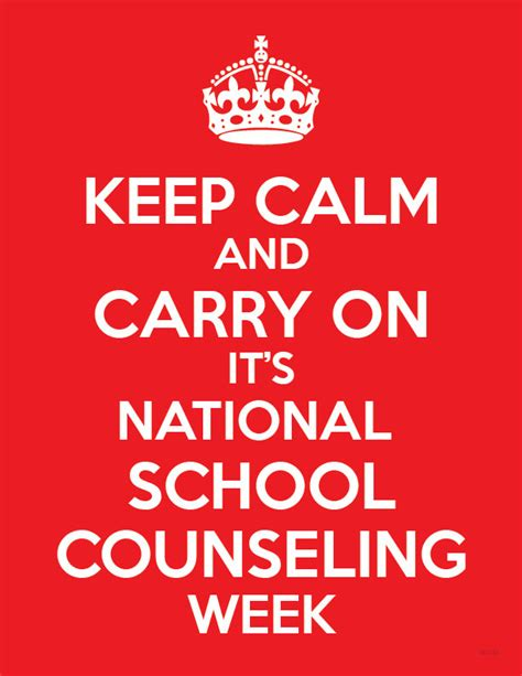 school counselor week national school counseling week counselorapp