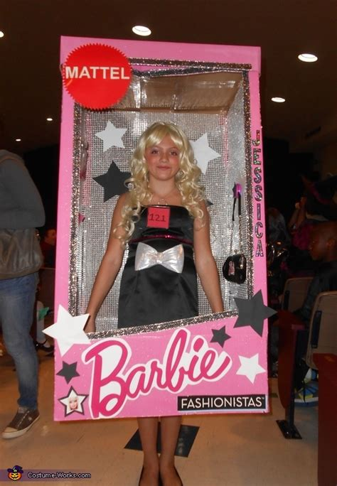 barbie   box halloween costume