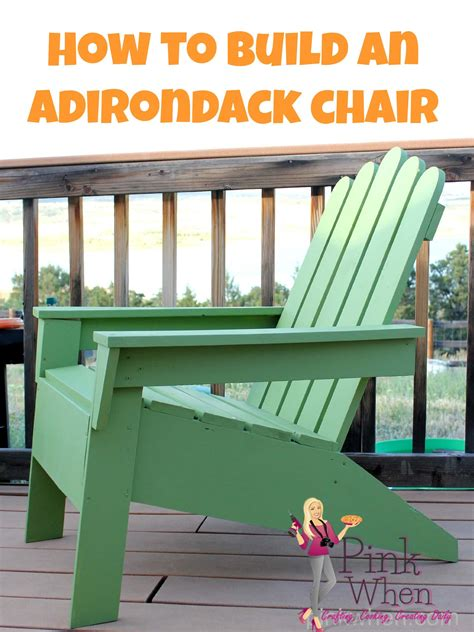 how to build an adirondack chair diy adirondack chairs page 2 of 2 pinkwhen