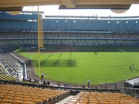 section 168 k dodger stadium section 168 rateyourseats com
