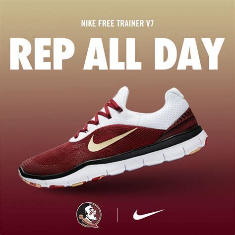 fsu basketball shoes nike x fsu free trainer v7 week zero shoes available now