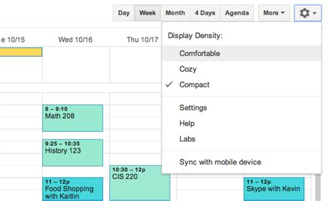 google calendar layout change google calendar changing the layout and creating editing