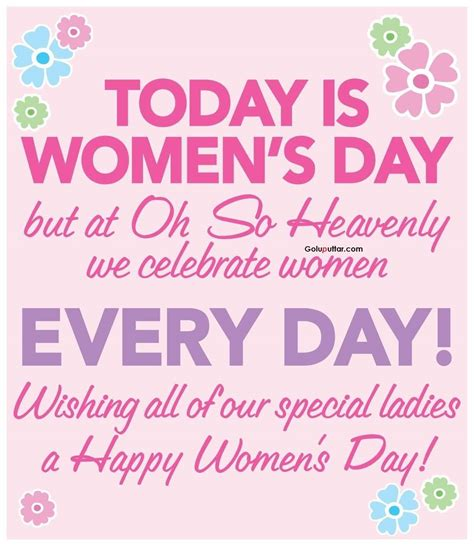s day quotes unique women s day quote special day for special