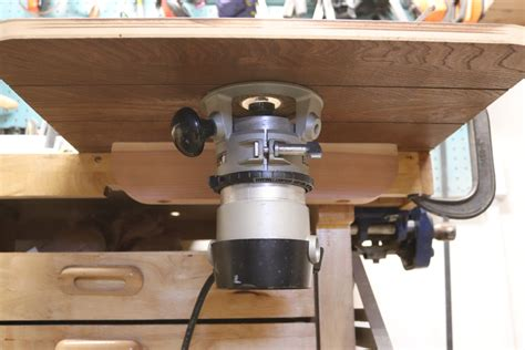 modify  stanley  router  table mount