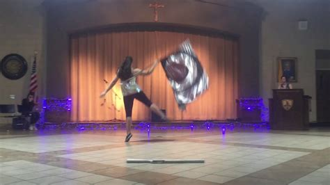 color guard routines color guard routine to quot thunder quot imagine dragons