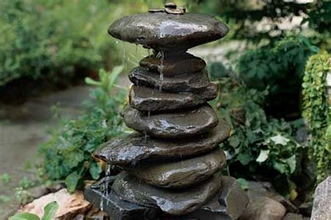 diy backyard fountain how to build a diy solar water feature