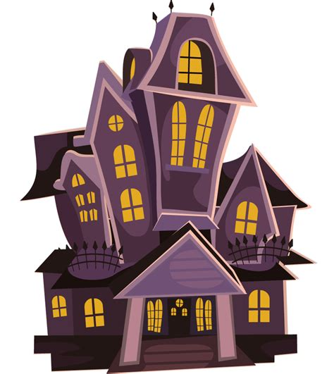Free To Use Public Domain Haunted House Clip Art
