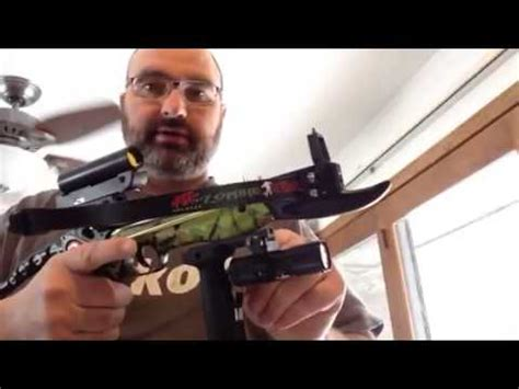 pse defense crossbow pistol