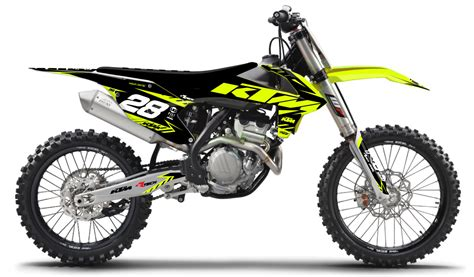 Ktm Neon Yellow Kit Rival Ink Design Co