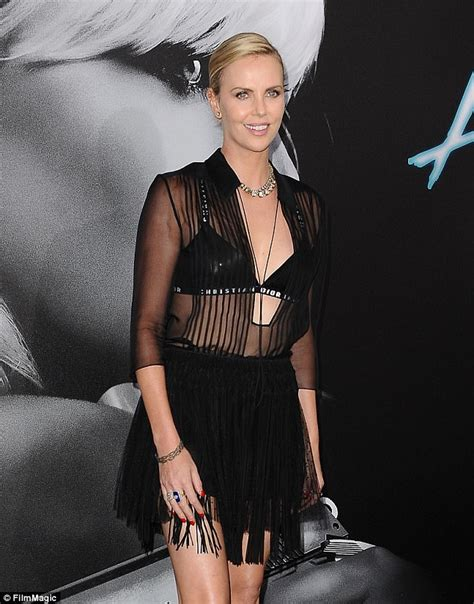 Charlize Theron Got Rid Of The Black Do by Charlize Theron Recalls Filming Atomic