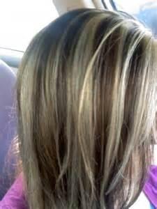 lowlights hair color pics brown lowlights and very light hightlights long