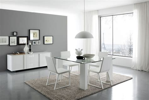 Modern White Dining Room Set | dining furniture from italy home decoration club