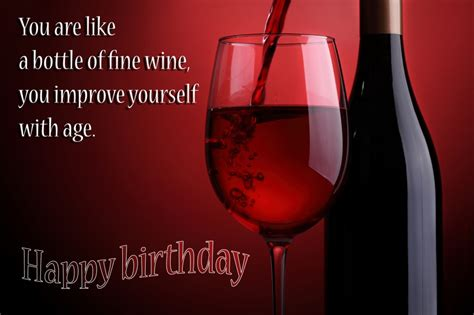 wine birthday wishes birthday wine ecard imgkid com the image kid