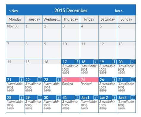 booking calendar template booking calendar plugin wpdevart