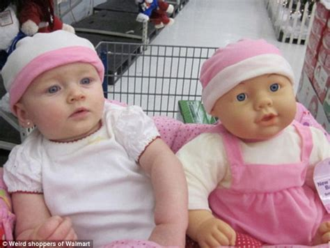 design a doll to look like you online series of photos show toddlers posing next to toy infants