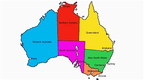 australia in map how to draw map of australia