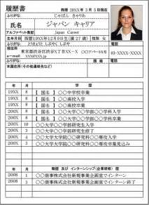 Resume Sample Japan by Resume Japan Carrer