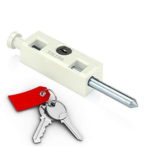 Toledo Window Sliding Patio Door Bolt Lock Tdp 02w Keyed Lock For Sliding Glass Door