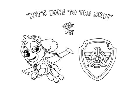 paw patrol shield coloring pages skye paw patrol badge coloring coloring pages